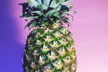 Shallow Focus Photography Green Pineapple