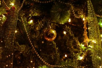 Shallow Photography of Christmas Decor