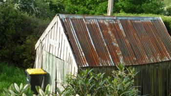Shed at Doctors Point