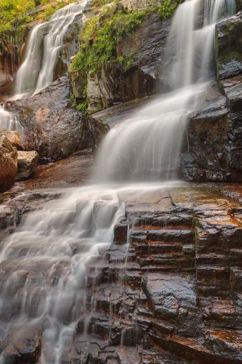Shelving Rock Falls - HDR