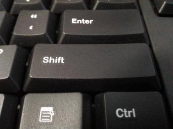 Shift Keyboard Button