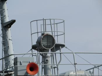 Ship's searchlight