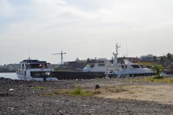 Ships on Dock