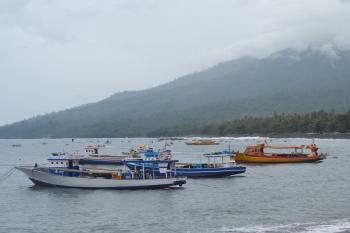 Ships on The Seashore