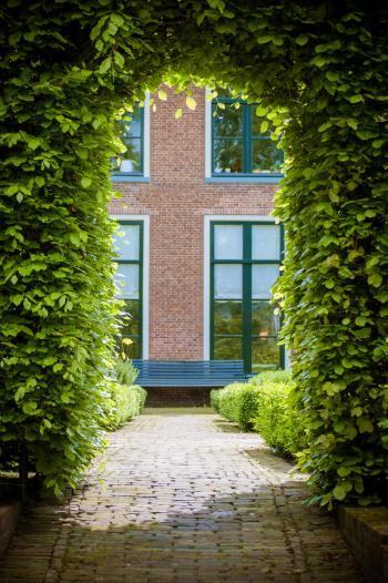 Shot of Garden Arch