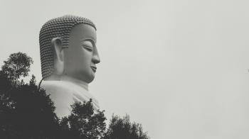 Side View Photo of Gautama Buddha Statue