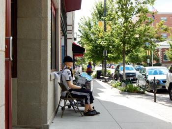 Sidewalk Mannequin