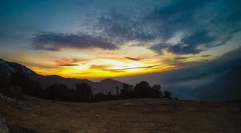 Silhouette of Field