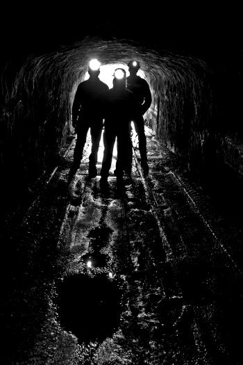 Silhouettes in the Tunnel