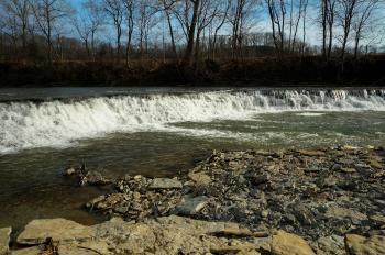 Silver Creek Falls, Madison County,