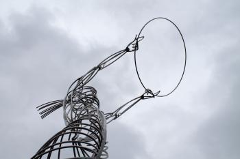 Silver Wire Art