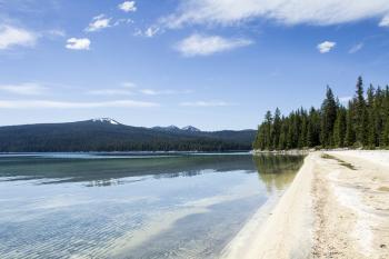 Simax Beach, Crescent Lake, Oregon