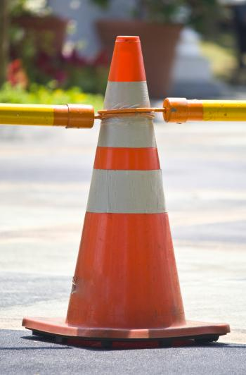 Singgle Traffic Cone