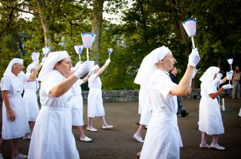 Sisters and nuns in lourdes