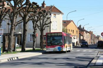 SITAC - Mercedes-Benz O530 Citaro n°282 - Ligne 2