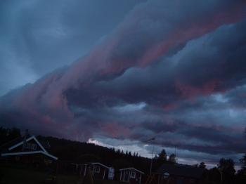 Sky in sweeden