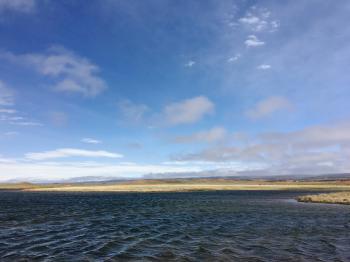 Sky Over Windy Lake