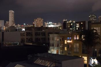 Skyline from roof of River on Folsom St in San Francisco (2)
