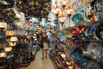 Small market in Grand Bazaar