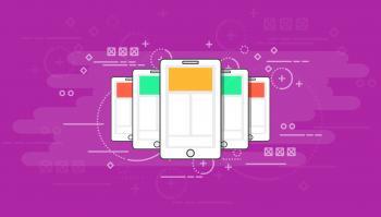 Smartphones - Modern Communication Concept - Darker Version