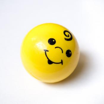 Smiley face ball