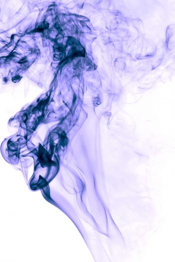smoke on white