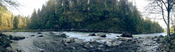 Snoqualmie River panorama