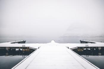 Snow Dock Port Photography
