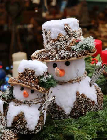 Snowmen Christmas Decoration