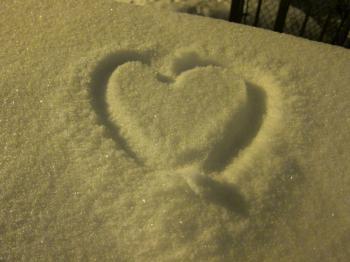 Snowy Heart
