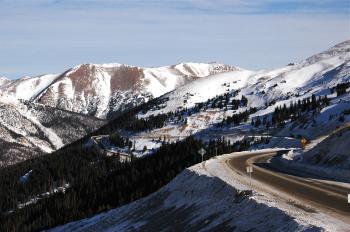 Snowy Mountain Pass