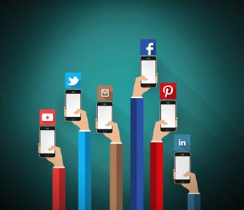 Social media networks on the smartphone