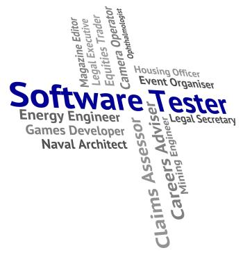 Software Tester Means Freeware Words And Occupations