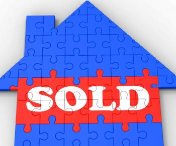 Sold House Shows Sale Of Real Estate