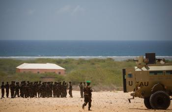 Somali National Army Training Pass-out Parade 05
