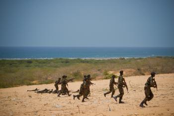 Somali National Army Training Pass-out Parade 07