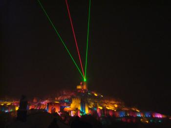 Sound and Lights Show in Tzarevetz, Veli