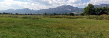 South Boulder Creek Trail panorama