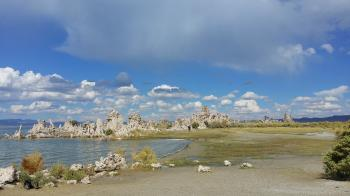 South Turfa of Mono Lake