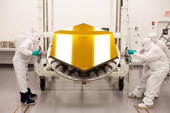 Space Telescope Mirror
