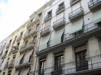 Spanish building facades