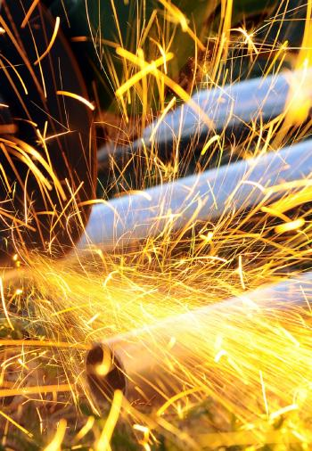 Sparks of Welding