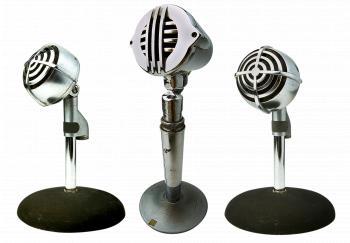 Speak in the Microphone