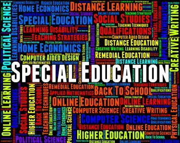 Special Education Represents Gifted Children And Development