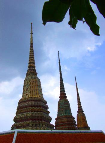 Spires - Wat Phra Kaew