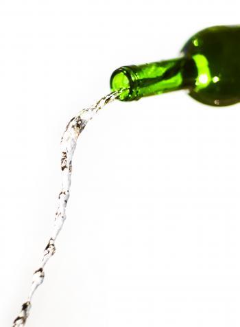 Splashing Water Bottle