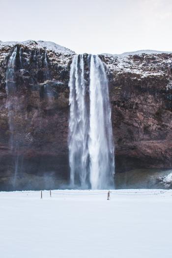 Splashing Waterfalls