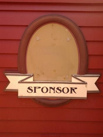 Sponsor Sign