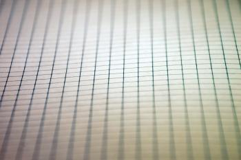Squared paper background