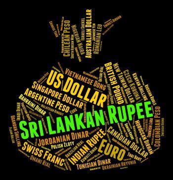 Sri Lankan Rupee Indicates Forex Trading And Banknotes